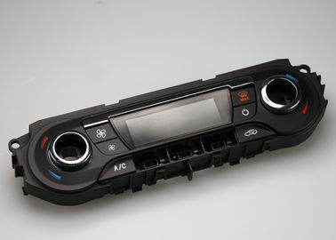 Panneau de commande de contrôle central des véhicules à moteur de moule électronique dans PC/ABS avec 2 cavités