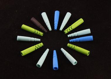 Composants moulés par plastique optique de polissage dans la couleur de la couleur 7 d'arc-en-ciel