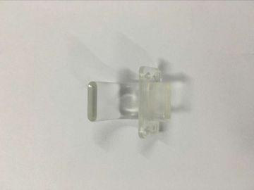 L'injection en plastique de transparent a moulé des pièces, moulage par injection en plastique de précision